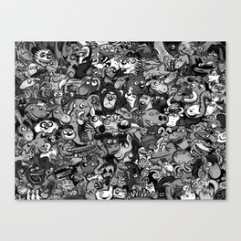 Zoo. Canvas Print