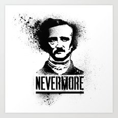 Nevermore! Art Print