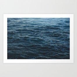 Ocean water Art Print