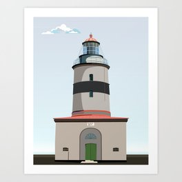 The lighthouse of Falsterbo Art Print
