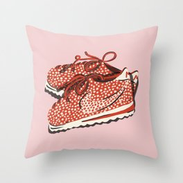 Just Did It Throw Pillow