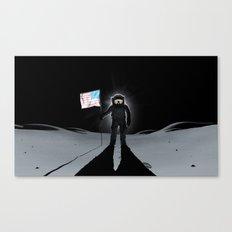 Lunar Walk Canvas Print