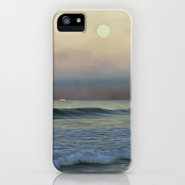 Pale Sunset iPhone Case