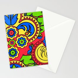 African Style No5 Stationery Cards