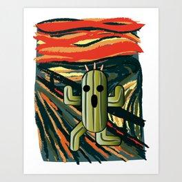 Cactilion Art Print