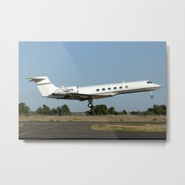 Gulfstream G5 departing Metal Print