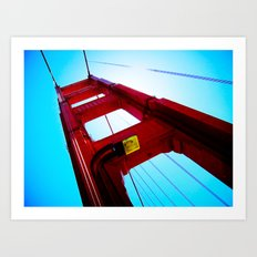 Golden Gate Obsession Art Print