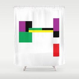 A language of alternative code #2 Shower Curtain