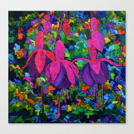 Fuschia 88 Canvas Print