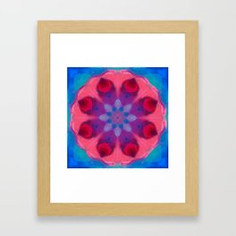 Mandala for Personal Power Framed Art Print