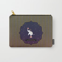 The Moonlight Parade-Elephant Carry-All Pouch