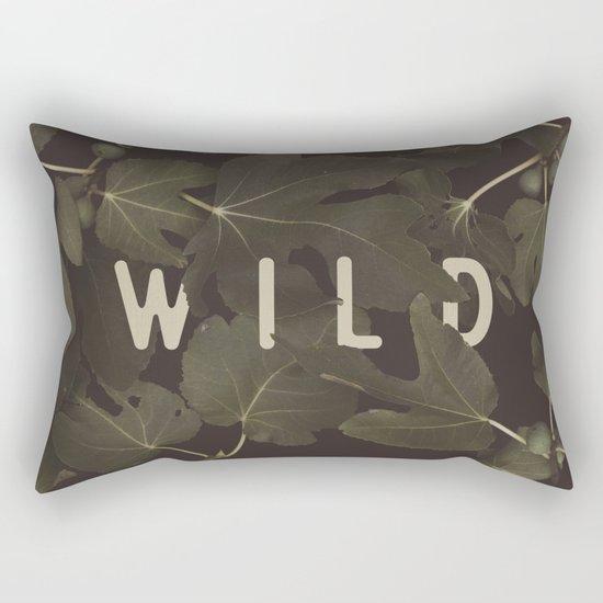Wild I Rectangular Pillow