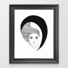 Fashion Illustration 4  Framed Art Print