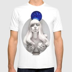 Suddenly the Koons is me Mens Fitted Tee White LARGE