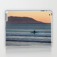 Surfer at sunset Laptop & iPad Skin