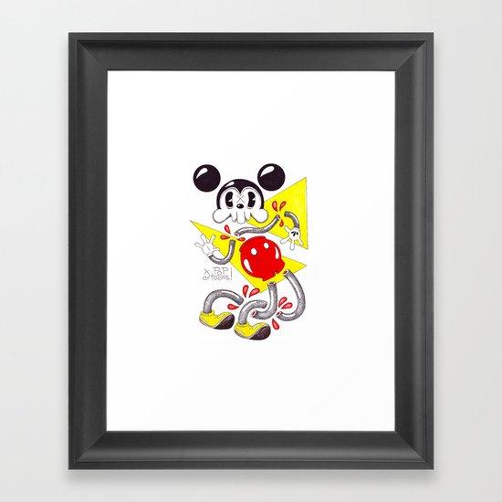 Skulltoons Framed Art Print