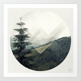Xross Country Art Print