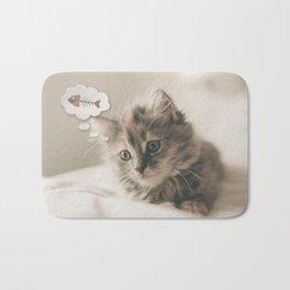 Dreaming Cat Bath Mat