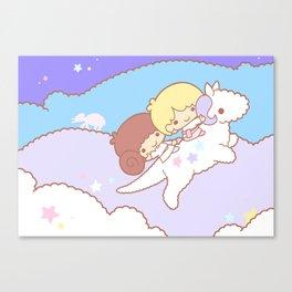 Starry Hoth Wonderland Canvas Print