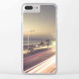 Urban twilight Clear iPhone Case