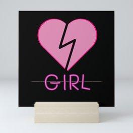 Heartbroken Girl Mini Art Print