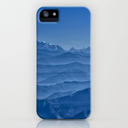 Blue Hima-layers iPhone Case