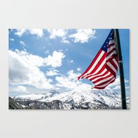 american Canvas Prints featuring American by Dana Brown