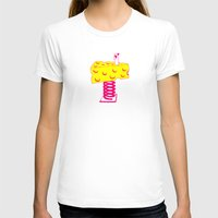 cheese T-shirts featuring Cheese by Wesley Fry