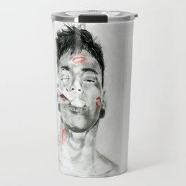 Kiss-Bombed Travel Mug
