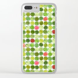 An Apple a Day... Clear iPhone Case