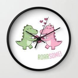 Roarsome Gift Wall Clock