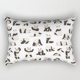 Pandas Party Rectangular Pillow