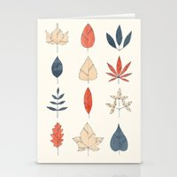 leaves Stationery Cards featuring Leaves by Tracie Andrews