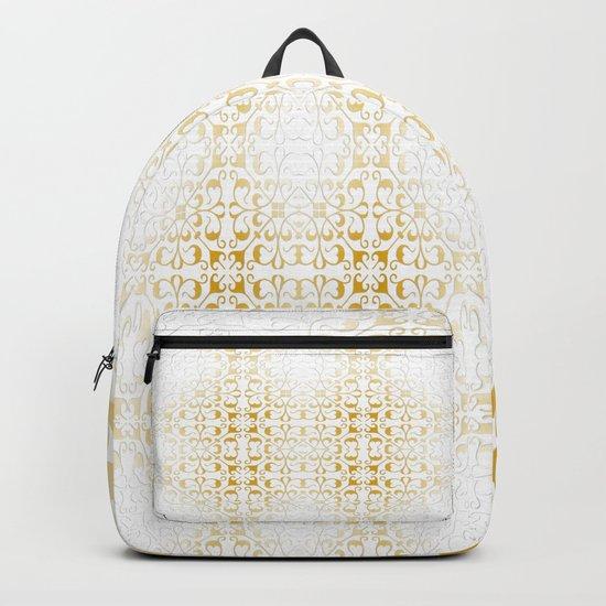 Damask Gold Backpack
