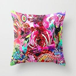 Astrii's Garden Throw Pillow