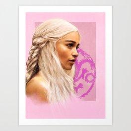 Dany painting Art Print