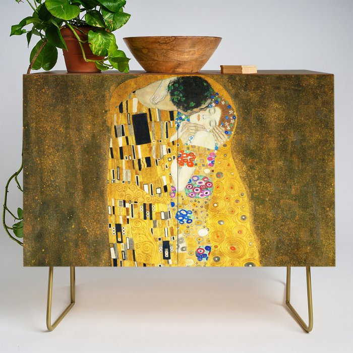 Gustav_Klimt_The_Kiss_Credenza_by_Art_Gallery__Gold__Walnut
