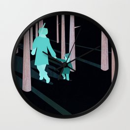 we're not out of the woods yet... Wall Clock