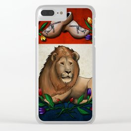 Netherlands Clear iPhone Case