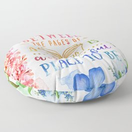 Between the pages Floor Pillow