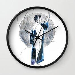 Singing Down the Moon Wall Clock