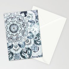 MOON SMILE MANDALA Stationery Cards