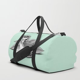 Poisonous Dragon-Teal Palette Duffle Bag
