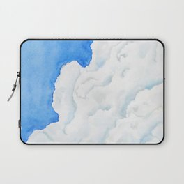 summer cloud watercolor Laptop Sleeve