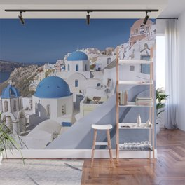 Oia Village in Santorini Wall Mural