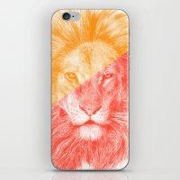 eric fan iPhone & iPod Skins featuring Wild 3 by Eric Fan & Garima Dhawan by Garima Dhawan