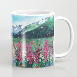 Fire in the Valley Coffee Mug