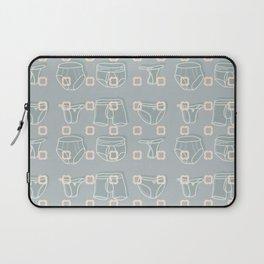 Underwear Grey Color Laptop Sleeve