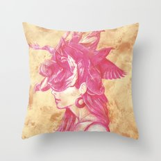 Bird's Nest Throw Pillow