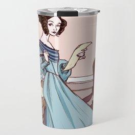 Ada Lovelace, The Enchantress of Numbers Travel Mug